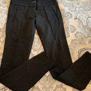 Loft petites Grey skinny pants